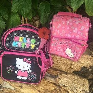 🎀Hello Kitty Bundle Small Back Pack & Lunchbag 🎀